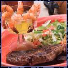Pelanchos-SteakAndShrimp